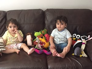 The Children's Reflexology Programme. Taha and Maryam